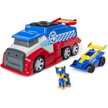 Paw Patrol Ready Race Rescue Mobile Pit Stop Team Vehicle with Sounds