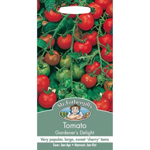 Mr Fothergills - Pictorial Packet - Vegetable - Tomato Gardener€™s Delight - 50 Seeds