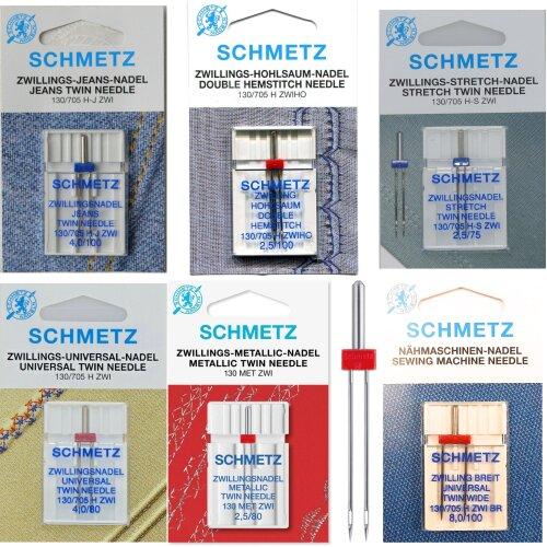 Schmetz Sewing Machine Twin Needles