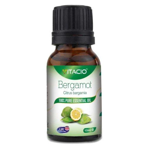Pure & Natural Bergamot FCF Essential Oil 10ml VitacioUK