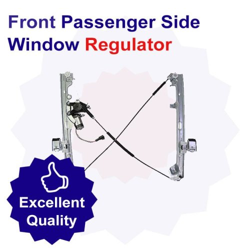 Premium Front Passenger Side Window Regulator for Audi A4 1.8 Litre Petrol (04/08-08/12)