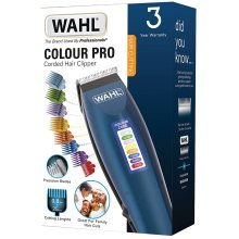 Wahl Hair Clippers for Men, Colour Pro Corded Head Shaver, Blue