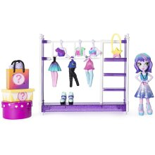 Off the Hook 6046892 Style Studio, Fun Playset with 4-inch Small Doll and Fashions and Accessories, for Girls Aged 5 and Up, Various Colours