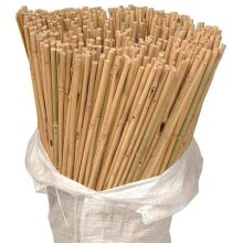 100 X 6FT Heavy Duty Bamboo Garden Canes Strong Quality Plant Support