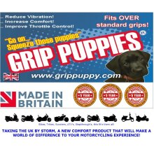 Motorcycle universal grip puppies comfort grips covers anti vibration