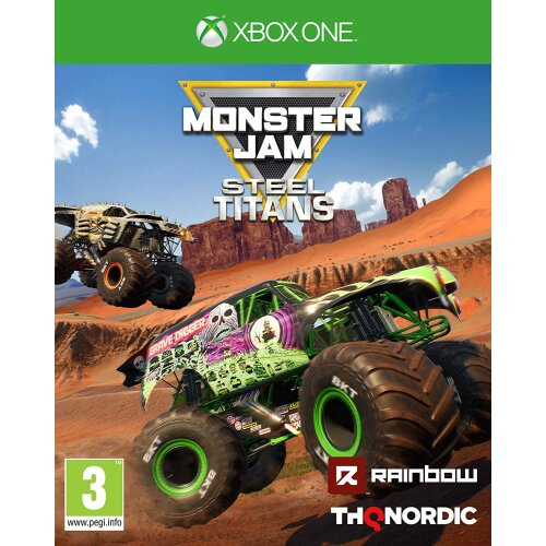 Monster Jam: Steel Titans Xbox1 (Xbox One) Game