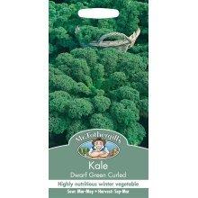 Mr Fothergills - Pictorial Packet - Vegetable - Kale Dwarf Green Curled - 400 Seeds