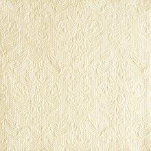 Ambiente 3 Ply Paper Napkins, Elegance Pearl Cream