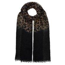 Women Super Soft Dip Dye Leopard & Snake Skin Animal Ombre Scarf Shawl Wrap