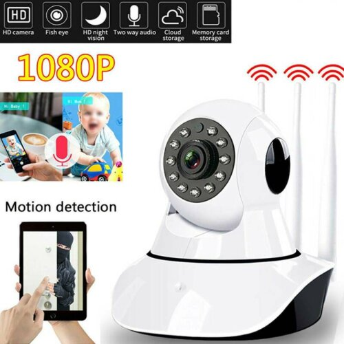 Full HD 1080P Wireless WIFI CCTV Camera Indoor Outdoor Home Security Cam