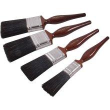 Hamilton 12120-004 Perfection Pure Bristle Flat Paint Brush 4pc Set