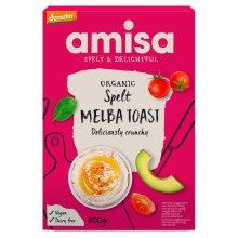 Amisa Organic Spelt Melba Toast