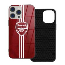 Arsenal FC Phone Cases Compatible with iPhone 12/ iPhone 12 Pro/ 12 Mini/ 12 Pro Max Glass Back Cover