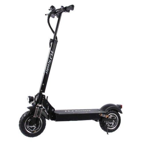 Flj Black 2400w 60kmh Adult Electric Scooter On Onbuy