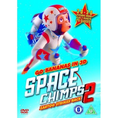 Space Chimps 2 - Zartog Strikes Back 3D DVD [2010]
