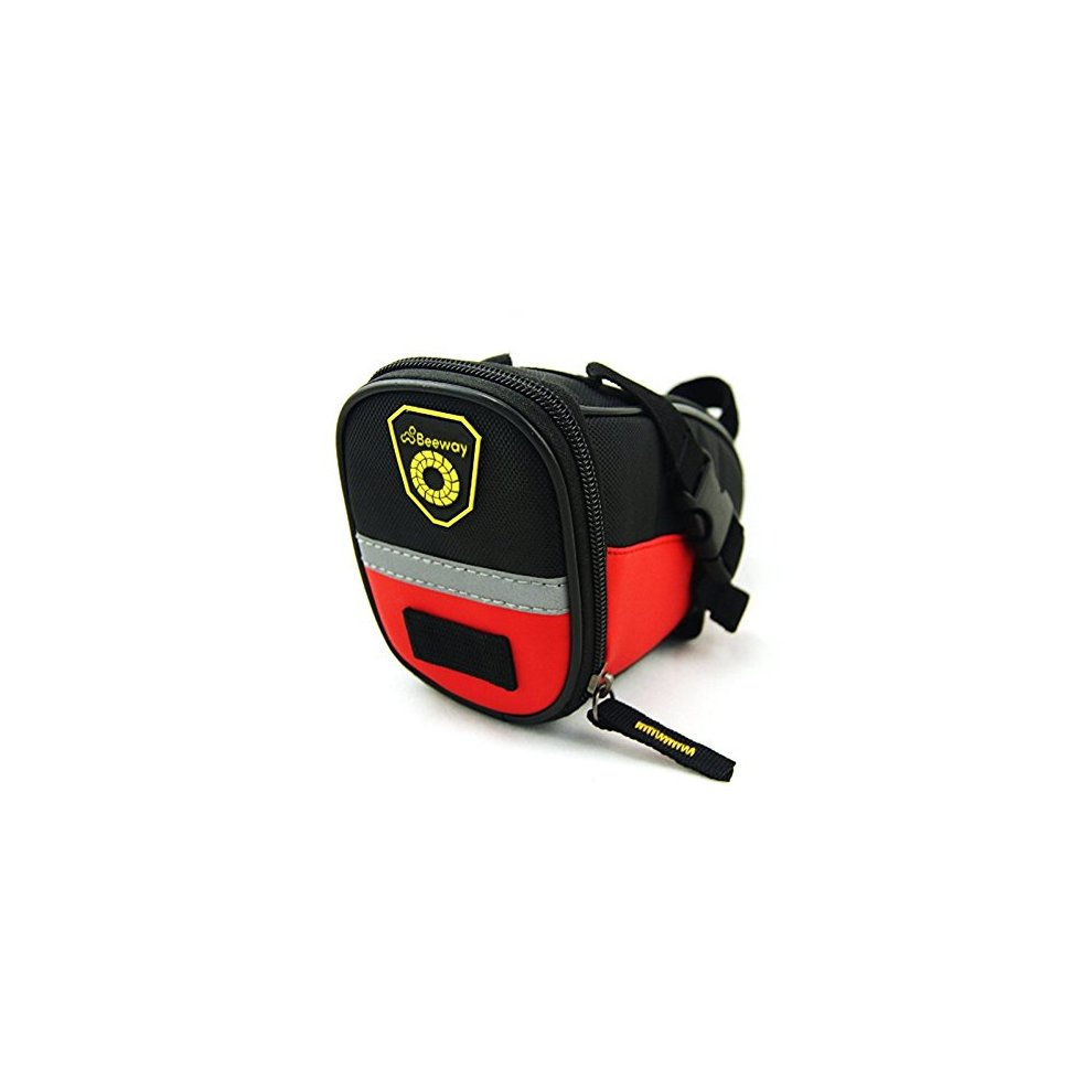 Water Resistant Colors Outdoor Cycling Mountain Bicycle Back Seat Pack Storage Bag Beeway/® Bike Saddle Bag