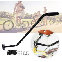 Kids Children Bike Leaning Push Handle Bicycle Control Grip Parent Safety Pole