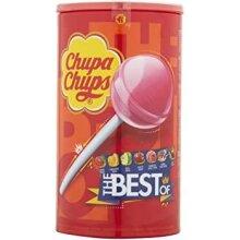 Chupa Chups 100 Multi Variety Flavour TUB Sweets Lollies Candy