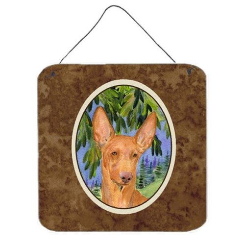 6 In. Pharoh Hound Aluminium Metal Wall Or Door Hanging Prints