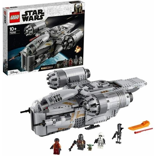 LEGO 75292 Star Wars The Mandalorian Bounty Hunter Transport Starship