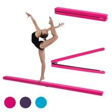 Faux Leather 2.1M Folding Gymnastics Balance Beam