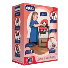 Chicco Junior Feed and Play 3in1 Seat Set
