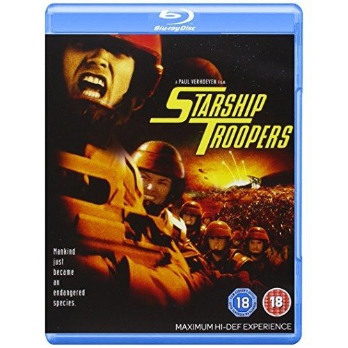 Starship Troopers Blu-Ray [2007]