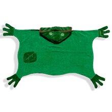 Kidorable Kids Frog Towel Size Medium Green Hooded Towel for Bath Beach or Pool 100% Cotton Kid's Towel Machine Washable