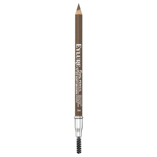 Eylure Brow Pencil - Soft Brown - Ideal for Precise Brow Shading & Shaping
