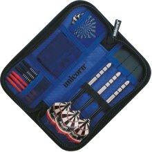 Unicorn Midi Wallet Case Cover Black/Silver - Interior Blue (UK2020)