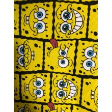 SpongeBob SquarePants canvas fabric hard and thick diy tablecloth/bag fabric