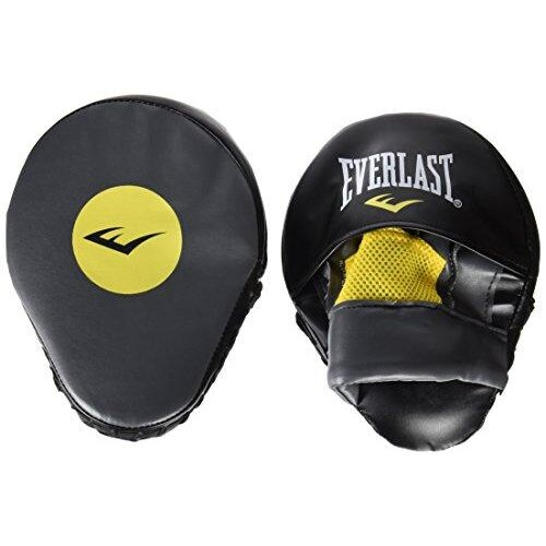 Everlast Mantis Hook and Jab Pads - Grey/Yellow