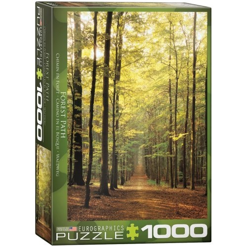 1000pc Eurographics Forest Path Jigsaw Puzzle