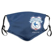 Cardiff City Football Team Face Masks for Adult Youth Reusable