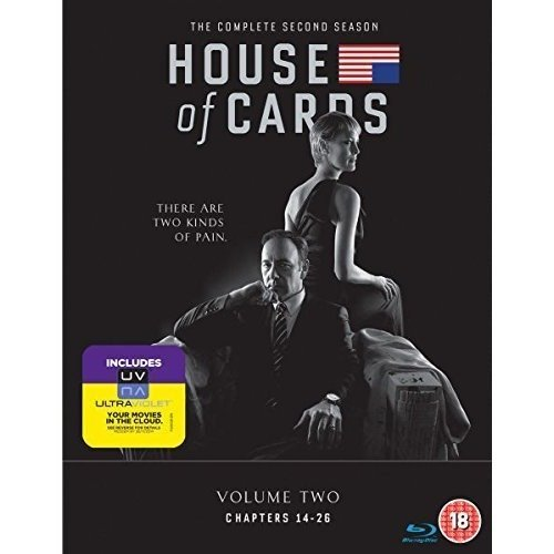 House Of Cards Season 2 DVD [2014]