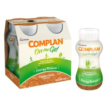 Complan On the Go Cappucino Flavour 200ml x 4