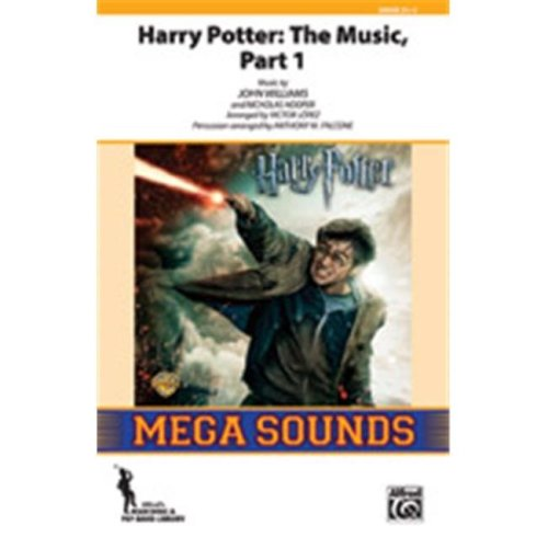 Alfred 00-38550 HARRY POTTER:THE MUSIC 1-MSS