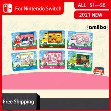 Sanrio Amiibo Cards for Nintendo Switch Gamepad 6PCS Full Set Animal Crossing New Leaf