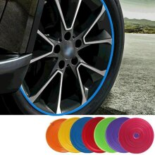 Car Styling Wheel Rims Protector Decor Strip Rubber Roll
