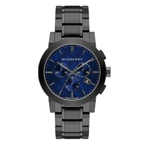 Burberry The City Mens Watch BU9365│Chronograph Dial│Stainless Strap