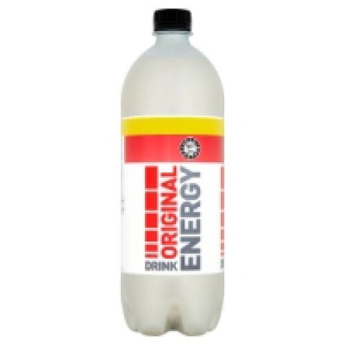 Euro Shopper Original Energy Drink 1 Litre (12 x 1ltr)