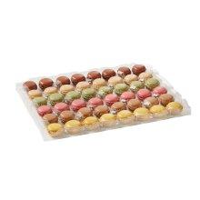 Bridor Lenotre Frozen Assorted Pre-Filled Macarons - 1x96