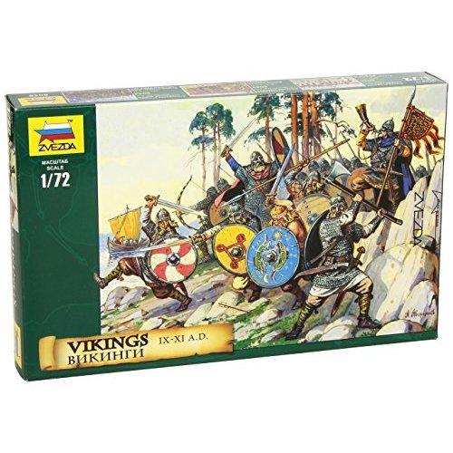 Zvezda Models Vikings Figures