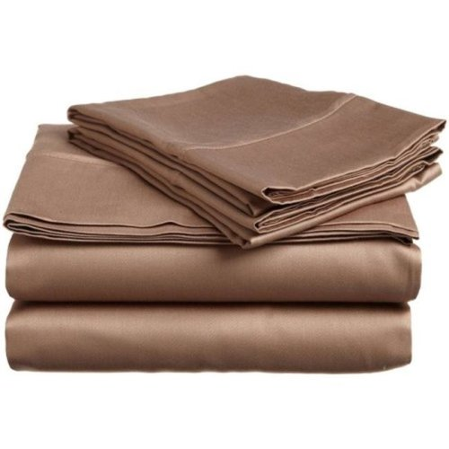Impressions 300QNWB SLTP 300 Queen Water Bed Set, Egyptian Cotton Solid - Taupe