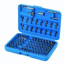 Silverline Screwdriver Bit Set 100pce 100pce - 633840 Pack -  bit set screwdriver silverline 100pce 633840 pack