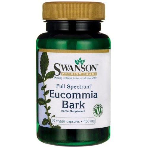 Swanson  Full Spectrum Eucommia Bark, 400mg  - 60 vcaps