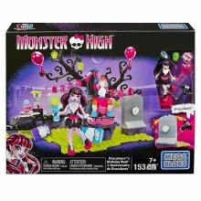 Monster High - Draculaura's Birthday Bash Party (Mega Bloks) 153pcs Building Set