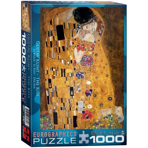 Eg60004365 - Eurographics Puzzle 1000 Pc - the Kiss / Gustav Klimt