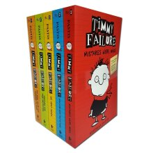 Timmy failure collection 5 books set by stephan pastis