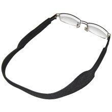 TRIXES Black Neoprene Spectacle Strap for Glasses & Sports Sunglasses